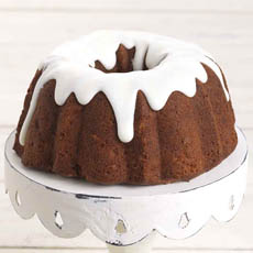 Iced Apple Spice Bundt Cake
