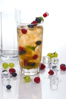 Berry iced Tea