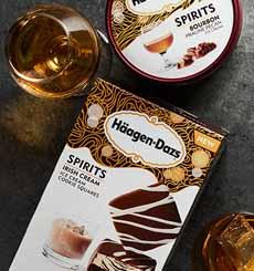 Häagen-Dazs Irish Cream Cookie Squares