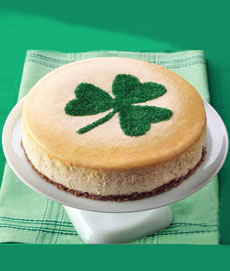 St. Patrick's Day Cheesecake