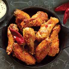 Buffalo Wings With Chiles
