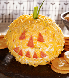 Halloween Cheese Ball
