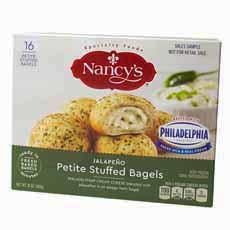Nancy's Stuffed Bagels Jalapeno