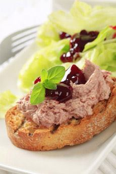 Pate With Berry Jam
