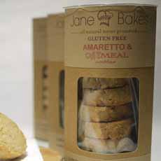 Jane Bakes Gluten Free Oatmeal Cookies