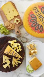 Jarlsberg Cheese Plate