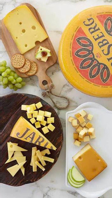 Jarlsberg Cheese Plate