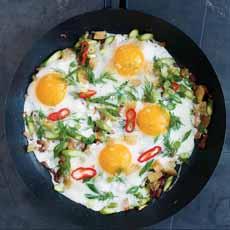Gourmet Fried Eggs