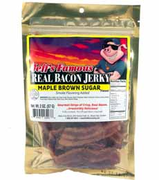 Jeff's Famous Jerky Maple Bacon