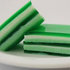 Green Jello Squares