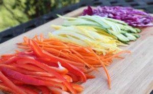 Julienned Vegetables