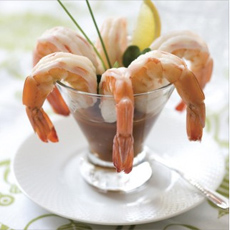 Shrimp Cocktail With Salsa