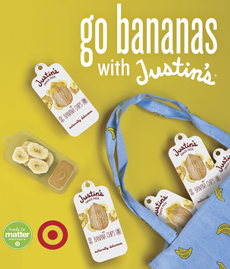 Justin's Peanut Butter With Bananas