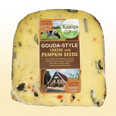 Pumpkinseed Gouda Cheese