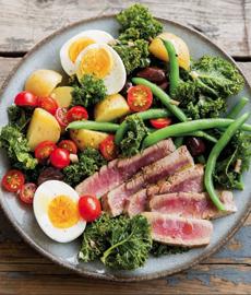 Kale Nicoise Salad