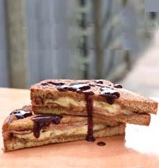 Peanut Butter Monte Cristo Sandwich