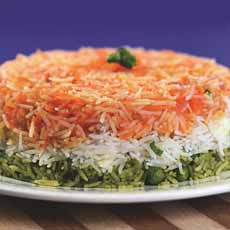 Tr-Color Rice Cake Recipe