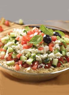 Hummus Salad
