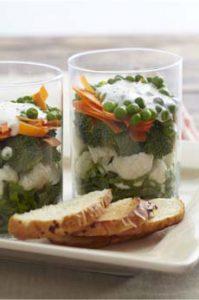 Cruciferous Layered Salad