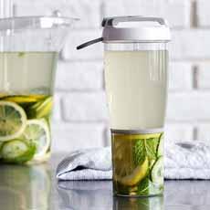 Lemon Cucumber Ginger Water