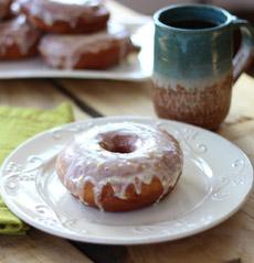 Lemon Glazed Donut