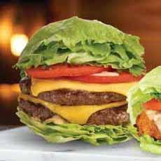 Burger In A Lettuce Bun