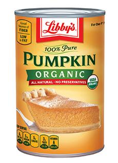 Organic Pumpkin Puree Libby
