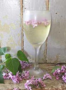 White Wine With Lilacs