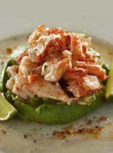 Lobster Guacamole Salad