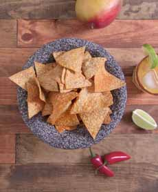 Mango Lime Chile Tortilla Chips, Cabo Chips