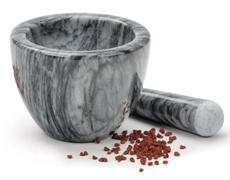 Marble Mortar & Pestle