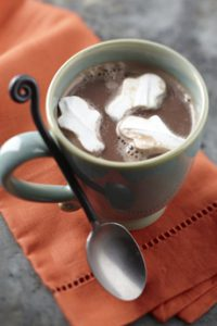 Ghost Marshmallows Cocoa