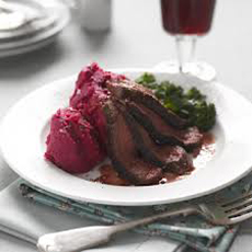 mashed-beets-potatoes-steak-lovebeets