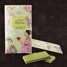 Marie Belle Matcha White Chocolate Bar