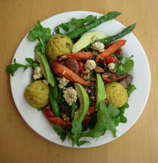 Matzoh Ball Salad