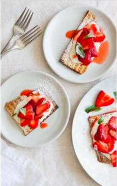 Matzoh Strawberry Shortcake Recipe