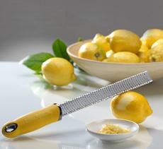 Microplane Zesting Lemons