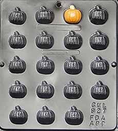 Pumpkin Candy Molds