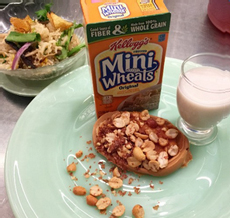 Kellogg's Mini Wheats With Cashew Butter