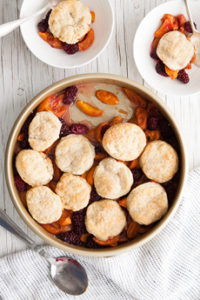 Mixed Fruit Cobbler