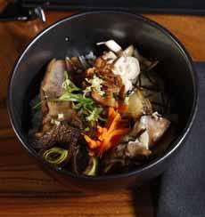 Mushroom Chirashi