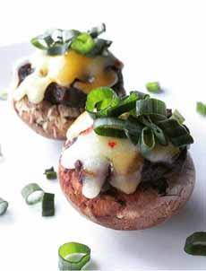 Mushroom & Bean Hors d'Oeuvre