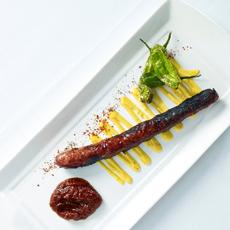 Sausage With Mustard sauce