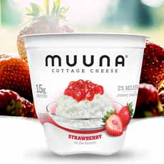 Muuna Strawberry Cottage Cheese