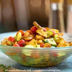 Naan Bread Salad