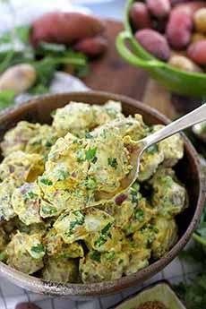Nepalese Potato Salad