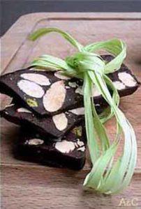 Nougat Noir With Hazelnuts