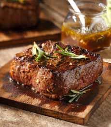 Strip Steak Cooked