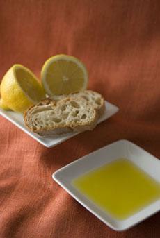 Lemon Olive Oil Bread Dipper
