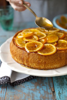 Olive Oil Cake With Orange